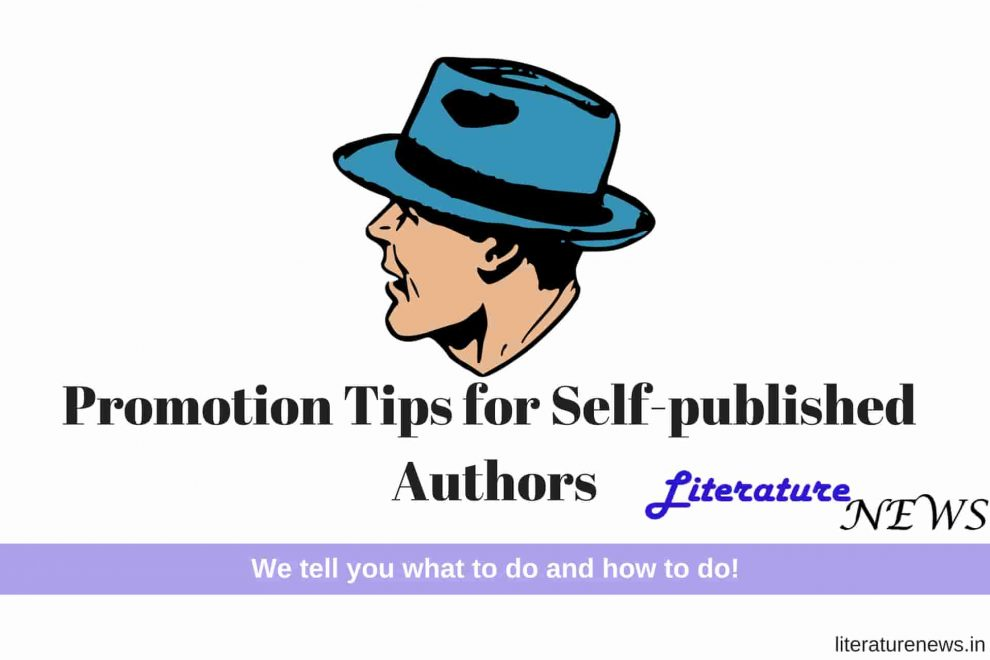 Self published authors tips promotion