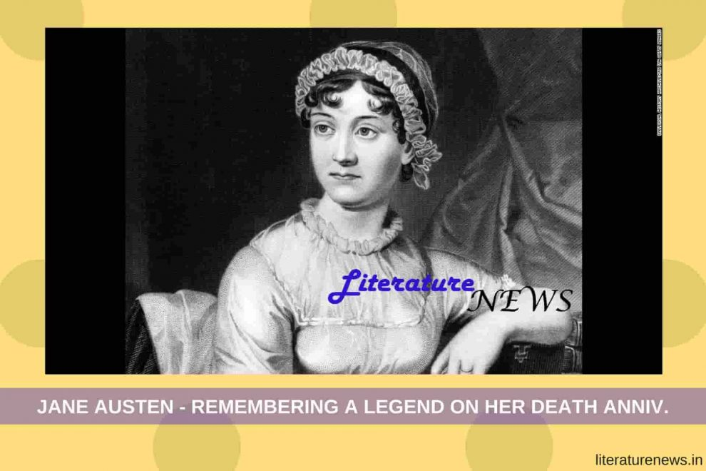 Jane Austen Death 18 July 1817