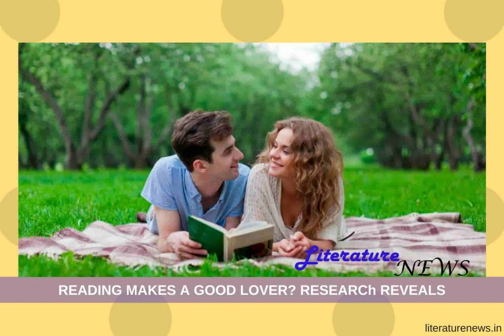 Reading makes a good lover literature news