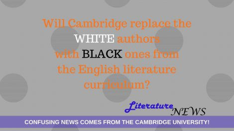 Cambridge University Black white authors english literature