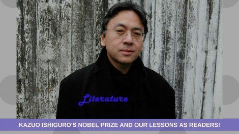 Kazuo Ishiguro Nobel Prize 2017