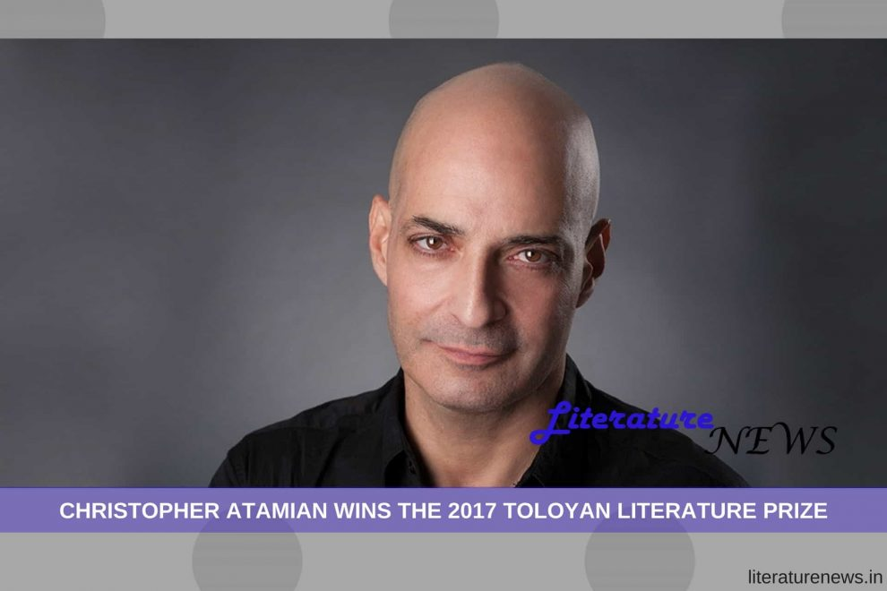 Christopher Atamian wins literature prize