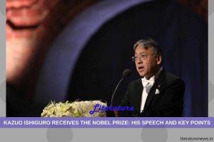 Kazuo Ishiguro Nobel Speech