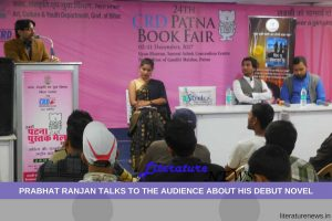 Prabhat Ranjan in Patna Book Fair