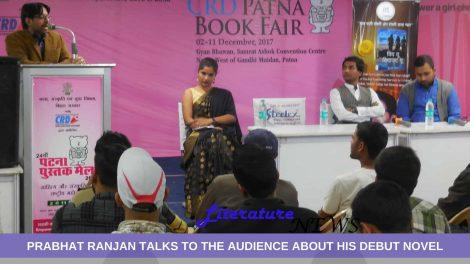 Prabhat Ranjan in Patna Book Fair
