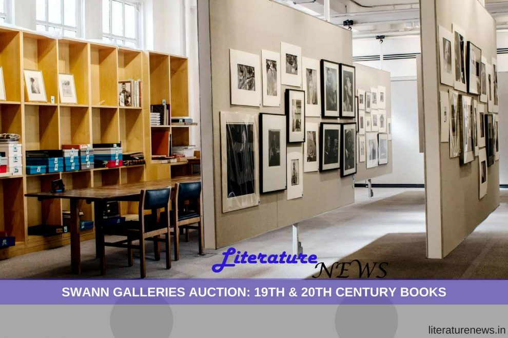 Swann Galleries auctions 19th 20th century books