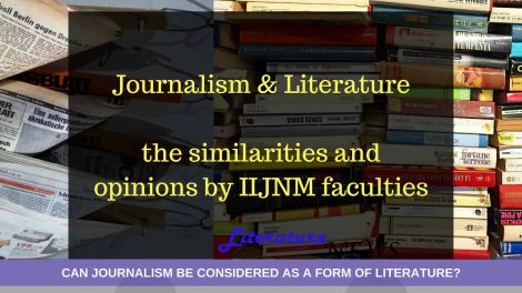 JOURNALISM and literature news