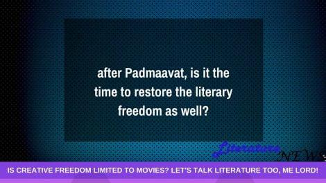 Padmaavat is on; when The Satanic Verses_