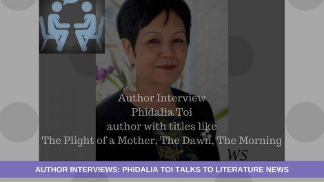 Phidalia Toi interview literature news