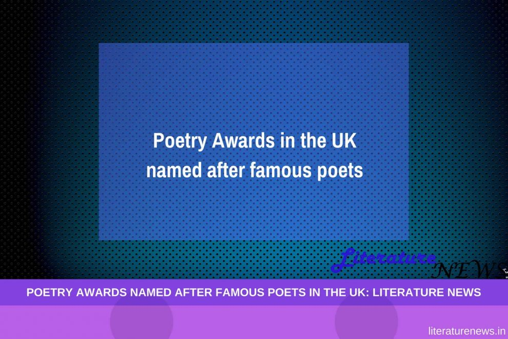 Poetry Awards named after the famous poets