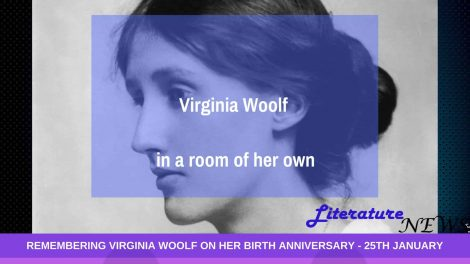 Virginia Woolf birthday a room of ones own