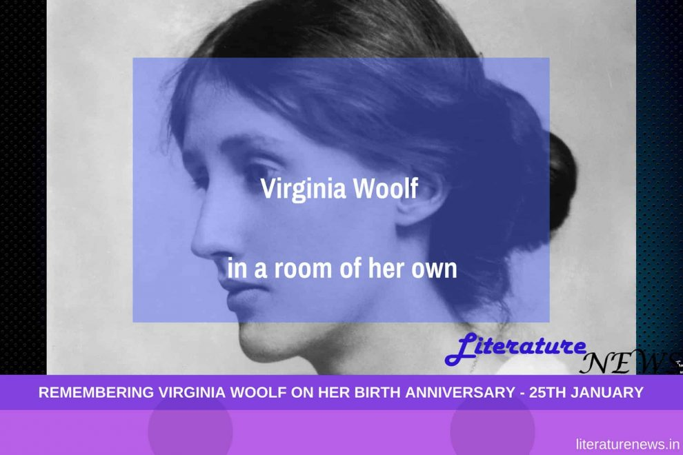 Virginia Woolf birthday a room of ones own