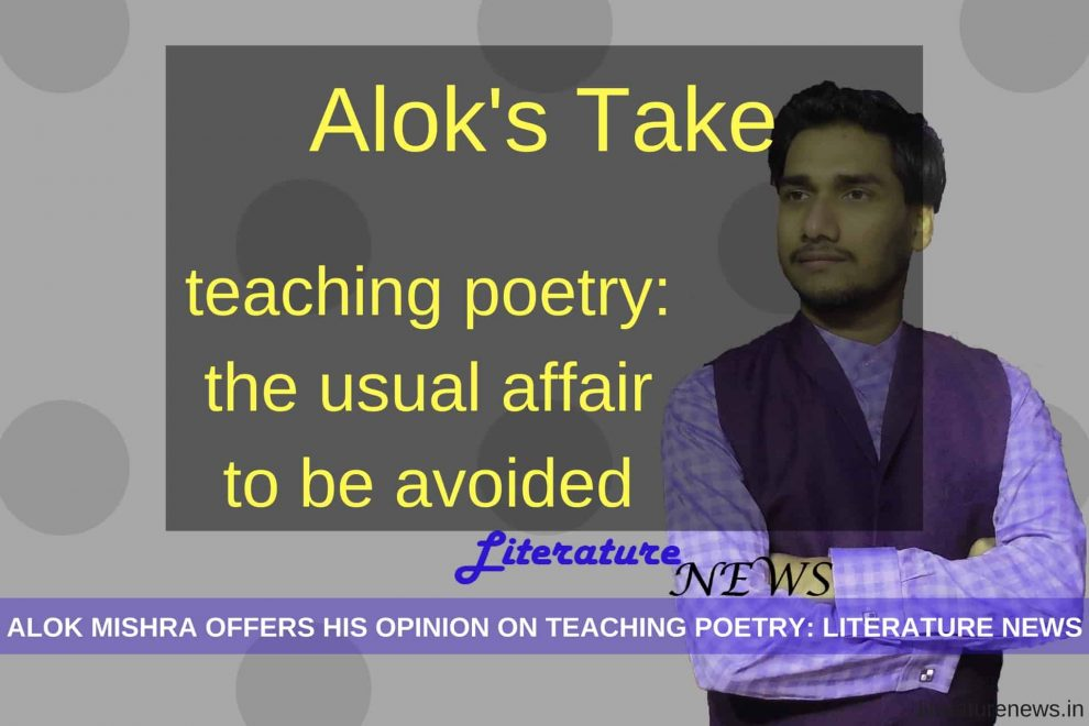 common problems in Teaching poetry news literature