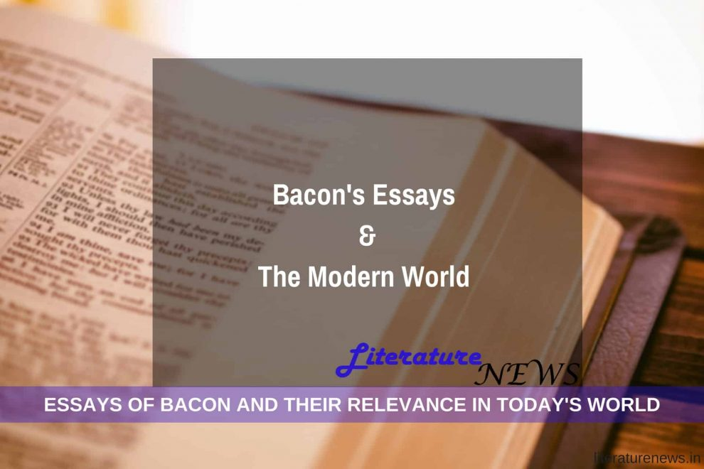 Bacon Essays and world today