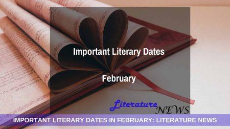 February important literary dates