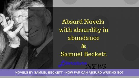 Novels by samuel beckett and absurdity