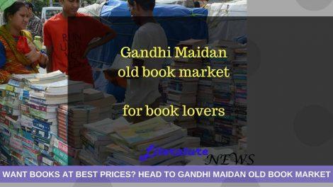 Old book market Gandhi maidan