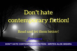 Don't hate contemporary fiction