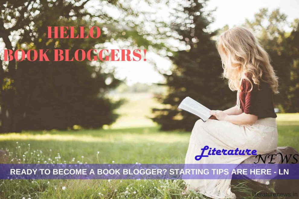 Book blogger career tips