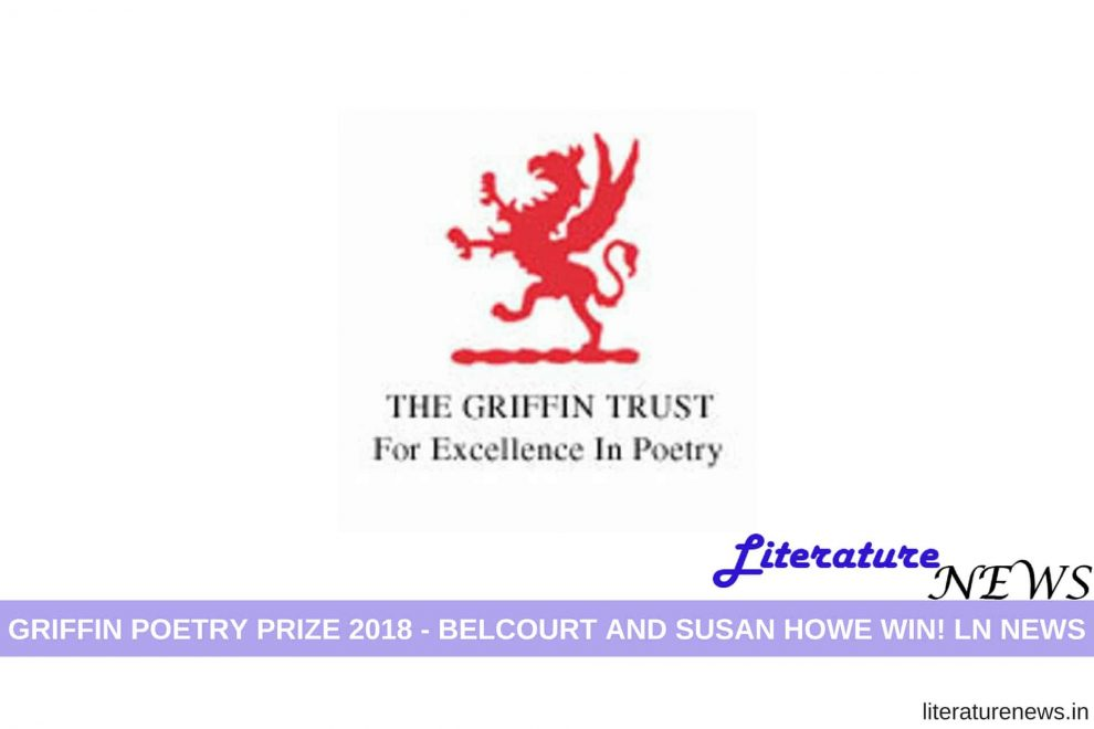 Griffin Poetry Prize 2018 winner