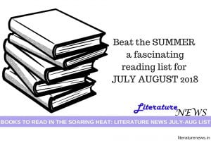 July August 2018 new releases book