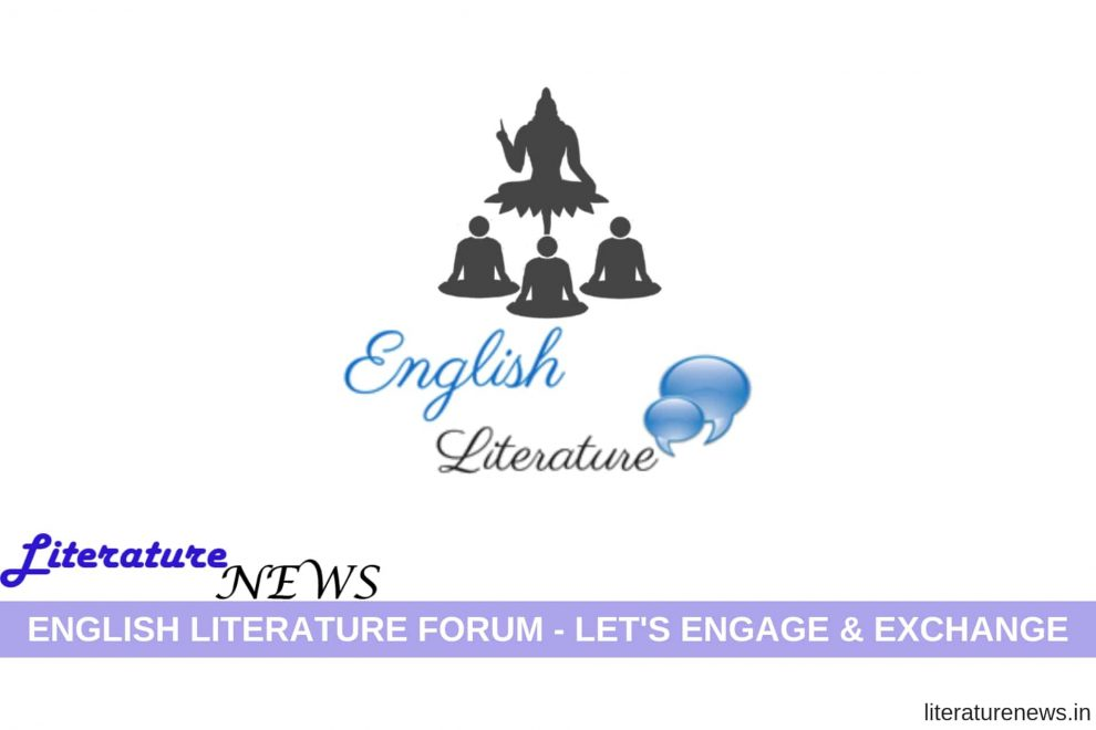English Literature Forum join register